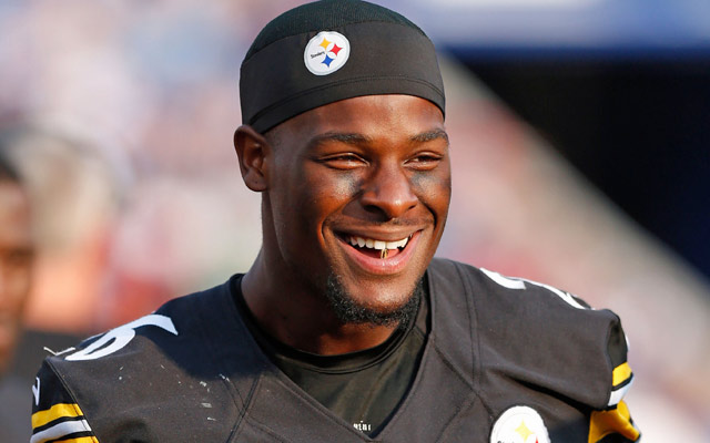 Le'Veon Bell won't suit up until week 3 for the Steelers.