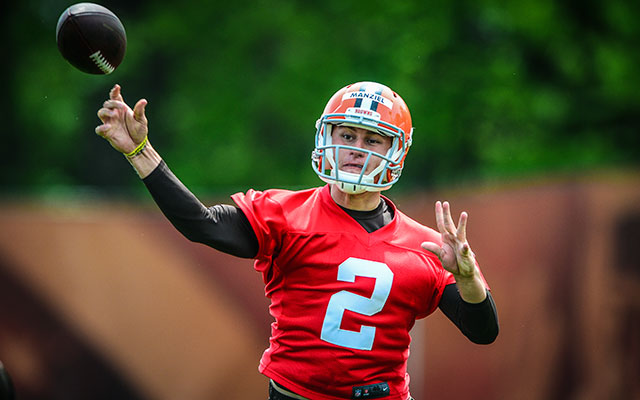 Johnny Manziel has the support of former college teammate Mike Evans. (USATSI)