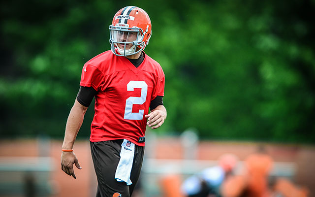 Brian Hoyer, not Johnny Manziel, is 'the guy,' according to Paul Kruger. (USATSI)