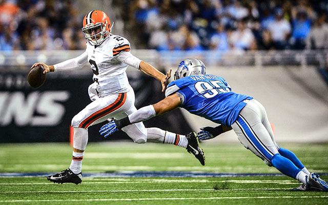 Worst-case scenario: Johnny Manziel is named the starter by Week 5? (USATSI)