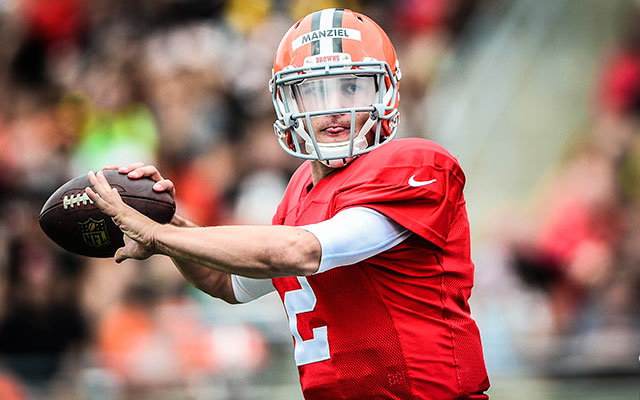 Johnny Manziel thinks a year on the bench could be good for his development. (USATSI)