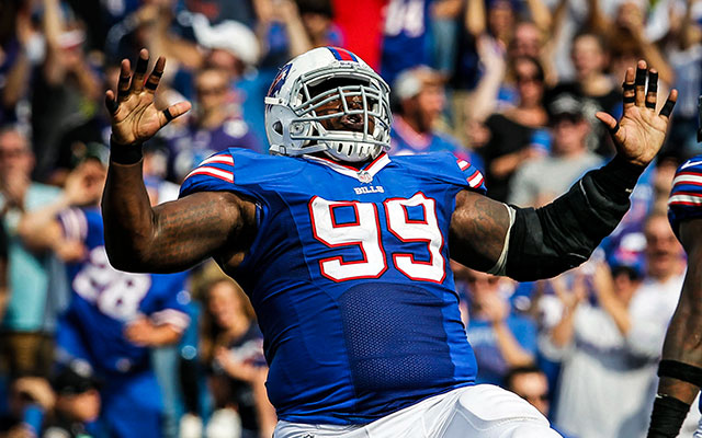 It's been a busy offseason for Marcell Dareus -- for all the wrong reasons. (USATSI)