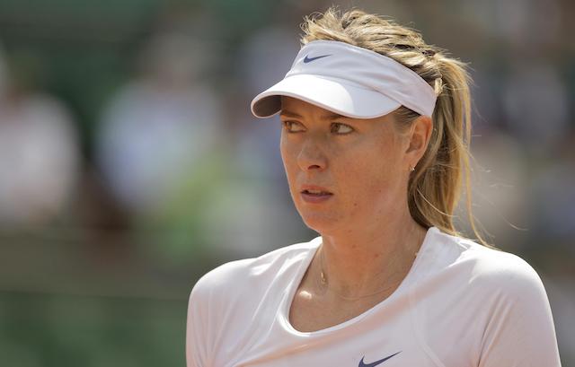 Maria Sharapova (USATSI)