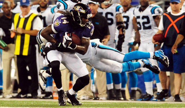 Marlon Brown has three touchdown catches in four games. (USATSI)
