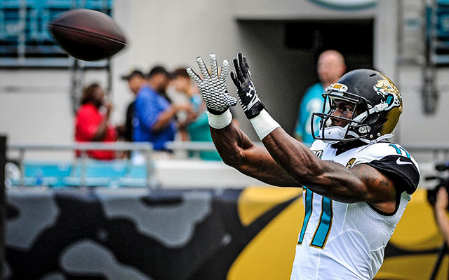 Marqise Lee didn't have a catch in his preseason debut. (USATSI)