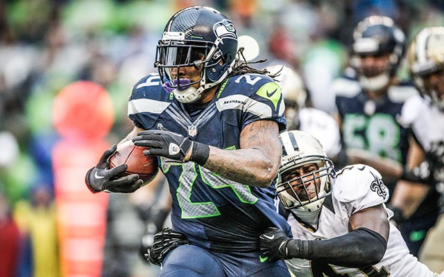 Marshawn Lynch Seahawks 2014