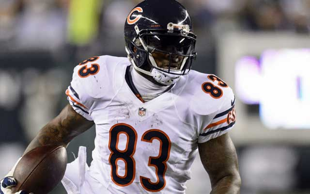 Martellus Bennett had 759 yards and five touchdowns in 2013.  (USATSI)