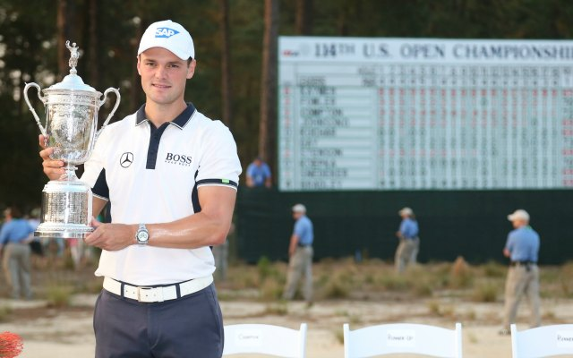 Martin Kaymer led Pinehurst wire-to-wire. (USATSI)