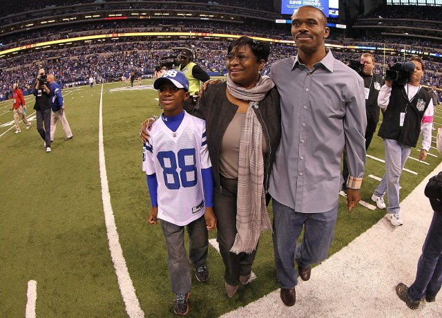 Marvin Harrison reportedly helped a man in need Saturday morning. (USATSI)