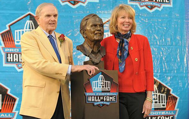 Mary Wilson, the wife of the late Ralph Wilson, has taken over as Bills owner. (Buffalo Bills)