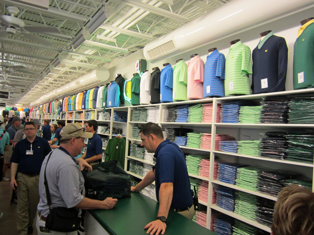Masters gear & LOOK: A glimpse inside the Masters merch tent - CBSSports.com