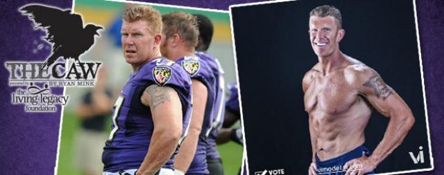 Matt Birk's before and after photos. (Official team site)