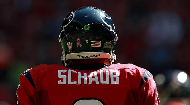 Could Matt Schaub be the answer in Oakland? Should he be?. (USATSI)