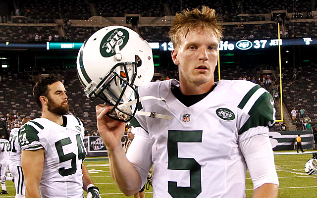 It's probably in everyone's best interest for Matt Simms to cut out the salsa dancing. (USATSI)