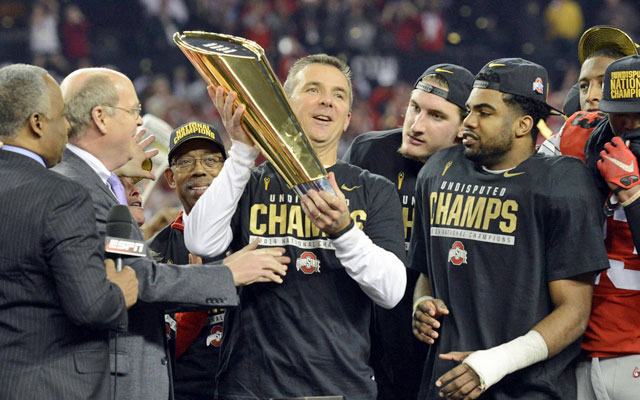 Ohio State's football national title was its first since 2002. (USATSI)