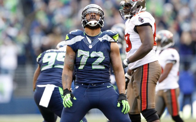 Does this man look like Russell Wilson or Michael Bennett? (USATSI)