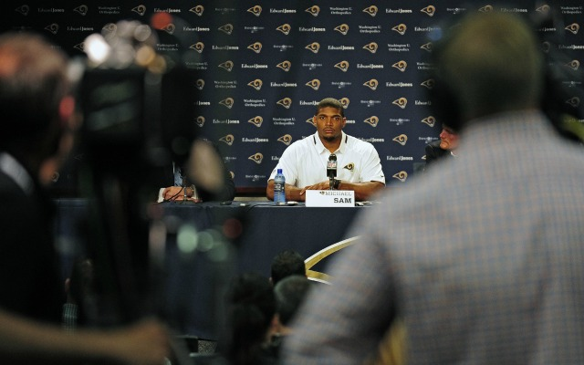 Michael Sam will have to deal with more cameras now. (USATSI)