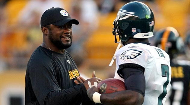 huge selection of 64b1c 96537 Report: Mike Tomlin was interested in Michael Vick coming to ...