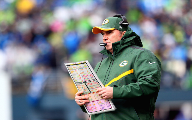 Mike McCarthy: 'I'm not questioning' play-calling