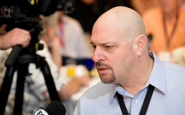 Mike Pettine says he thinks the Patriots might have had the Jets playbook. (USATSI)