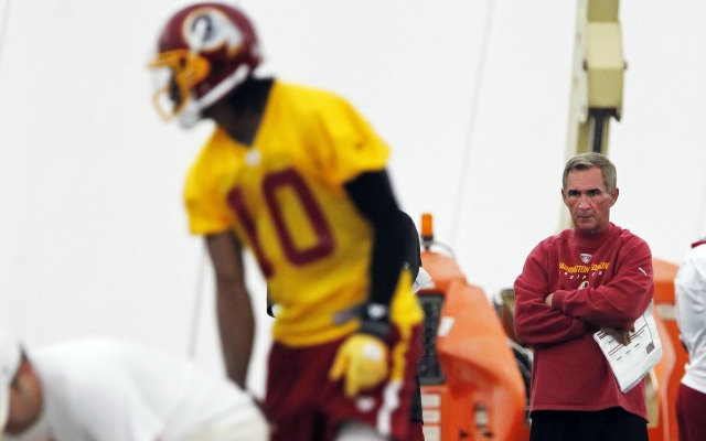 Mike Shanahan guided RG3 and the Skins to the playoffs in 2012 after a 3-6 start. (USATSI)