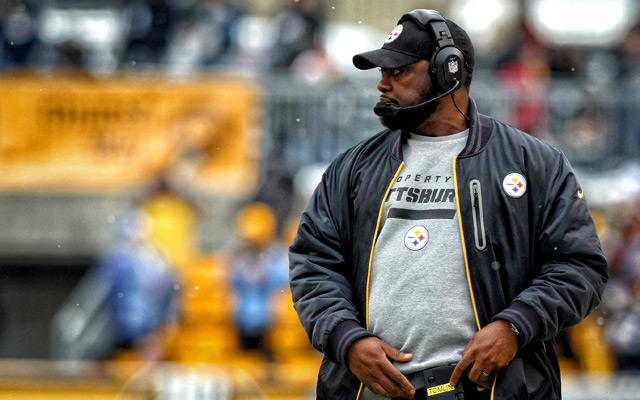 The Steelers have gone 8-8 in consecutive seasons under Mike Tomlin. (USATSI)