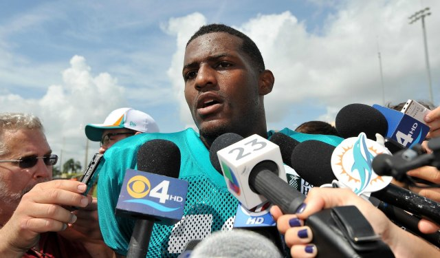 We're unclear at this point why Mike Wallace has missed two practice this week. (USATSI)