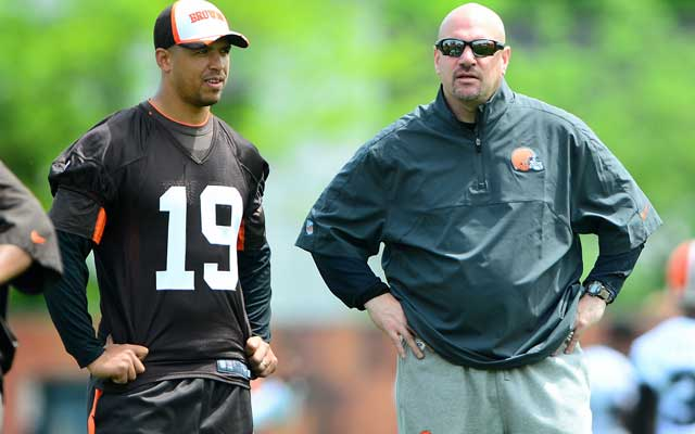 Mike Pettine's staff will have to rely on Miles Austin (left) and co.