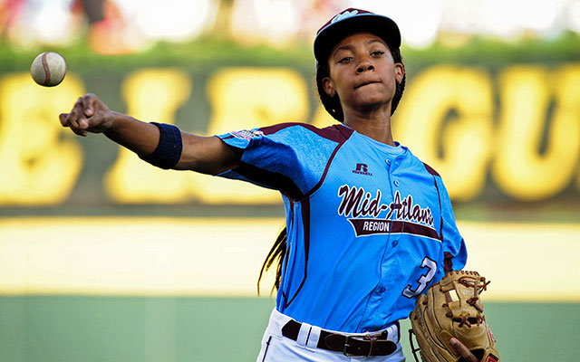 Mo'ne Davis will almost certainly be on the mound Wednesday night. (USATSI)
