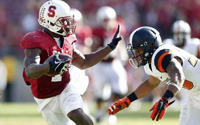 eye on college football stanford football score
