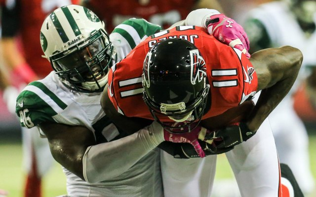 There could be a collision coming between Muhammad Wilkerson and the Jets. (USATSI)