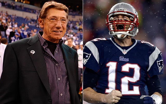 Joe Namath can understand why Tom Brady is hated. (USATSI)