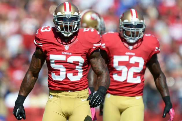 Navorro Bowman has restructured his deal. (USATSI)