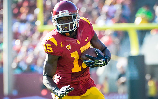 Nelson Agholor can be a slot receiver immediately in the NFL. (Getty Images)