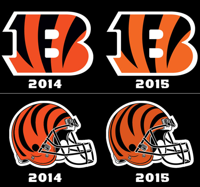LOOK: Bengals copy Browns, reveal 'new' shade of orange for 2015 ...