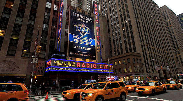 30 players will be at Radio City Music Hall hoping to hear their names called. (USATSI)