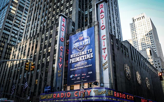 Would the draft ever leave New York City?. (USATSI)