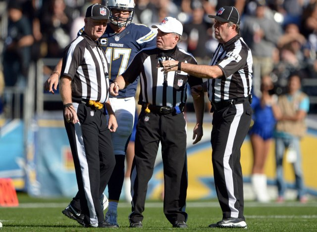 The NFL has released the names of all 119 officials. (USATSI)