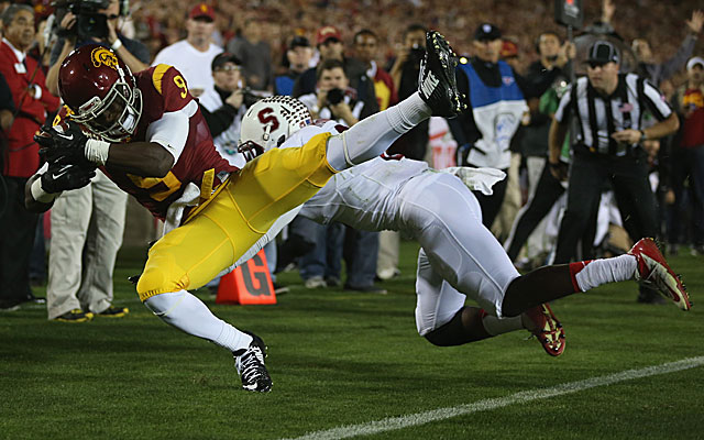 Marqise Lee certainly did enough to capture the attention of scouts in USC's win over Stanford. (Getty Images)