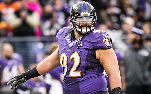 Haloti Ngata says he was 'just mad' that a Redskins player 'tried a late hit.' (USATSI)