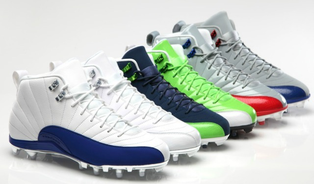 761405d7d This is the football cleat design of the new Air Jordan. (Nike)