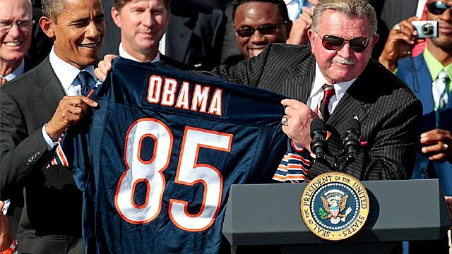 Ditka regrets not running for Senate, says Obama wouldn't be President