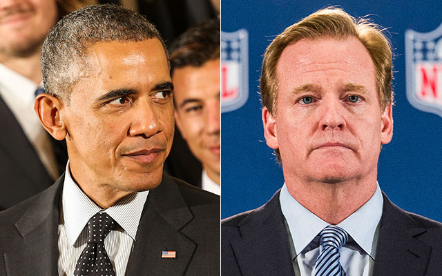 Obama says Goodell, NFL 'behind the curve' in handling Ray Rice