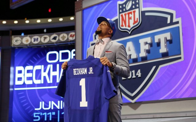 Odell Beckham Jr., has signed his contract. (USATSI)