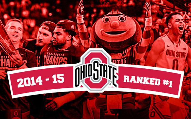 Ohio State was the best athletic program in 2014-15. (CBS Sports)