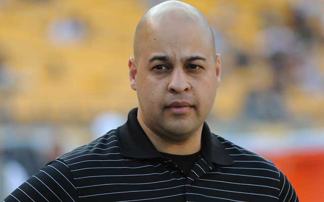 Omar Khan is the Director of Football Administration for the Steelers. (Getty Images)