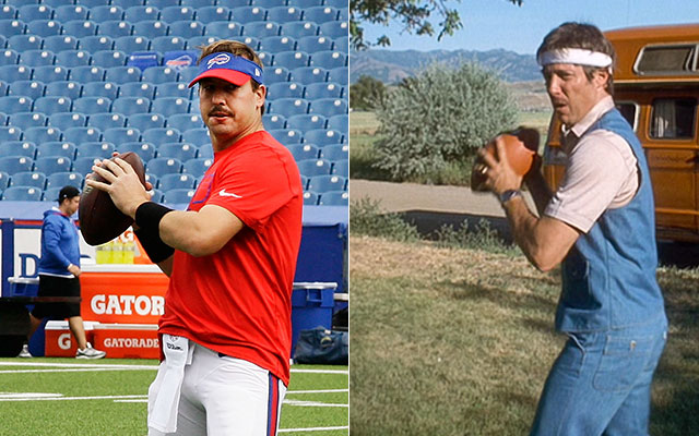 WATCH: Kyle Orton as Uncle Rico throws winning 2-yard TD pass - CBSSports.com