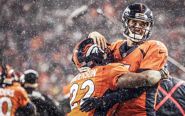 C.J. Anderson and Brock Osweiler helped the Broncos beat the Patriots. (USATSI)