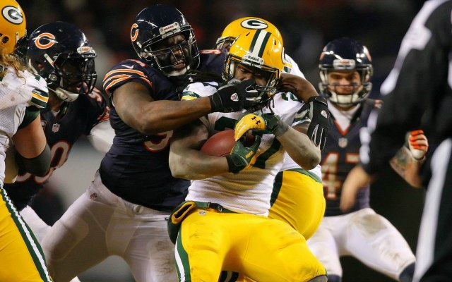 If somebody asks you to be on a Bears-Packers game, make sure you know the terms beforehand. (USATSI)