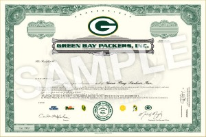 Packers stock sample
